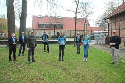 Auf teilweise herausragende Erfolge können die jungen Musiker bereits zurückblicken. Das wurde im Rahmen einer besonderen Ehrung in Saerbeck gewürdigt. Foto: Luca Pals