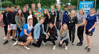 Sporthelfer der MKG im Einsatz an der St. Georg Grundschule
