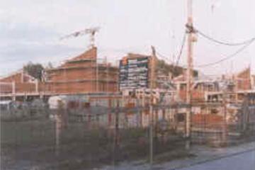 Die Maximilian-Kolbe-Gesamtschule im Bau