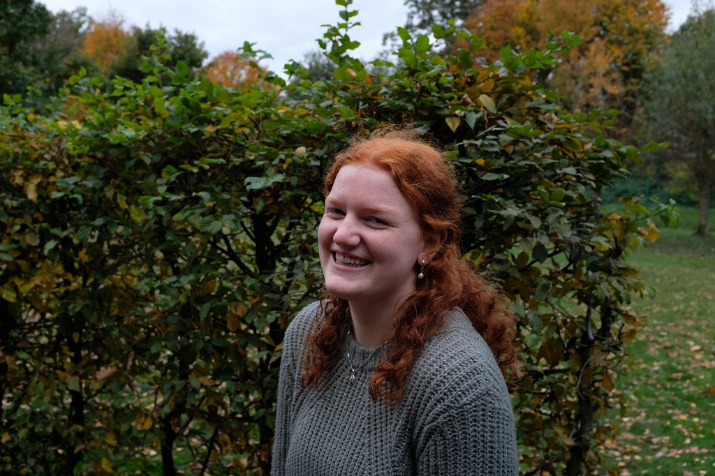 Stellvertretende Schülersprecherin Sophia Sander